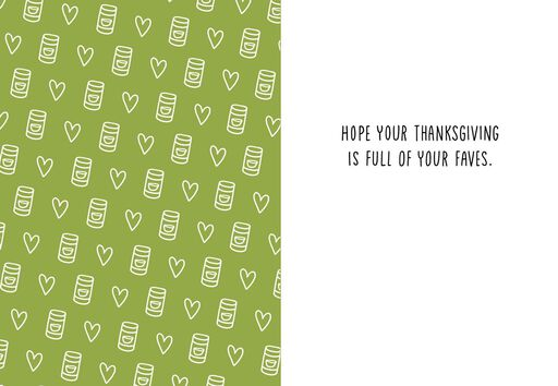 Made With Love Thanksgiving Card,