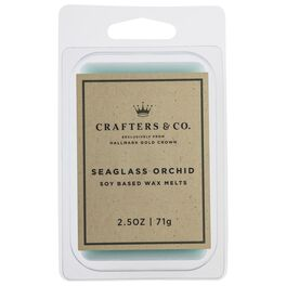 Crafters & Co. Seaglass Orchid Wax Melt, 2.5-oz, , large