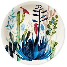 Cactus Ceramic Serving Bowl, , large