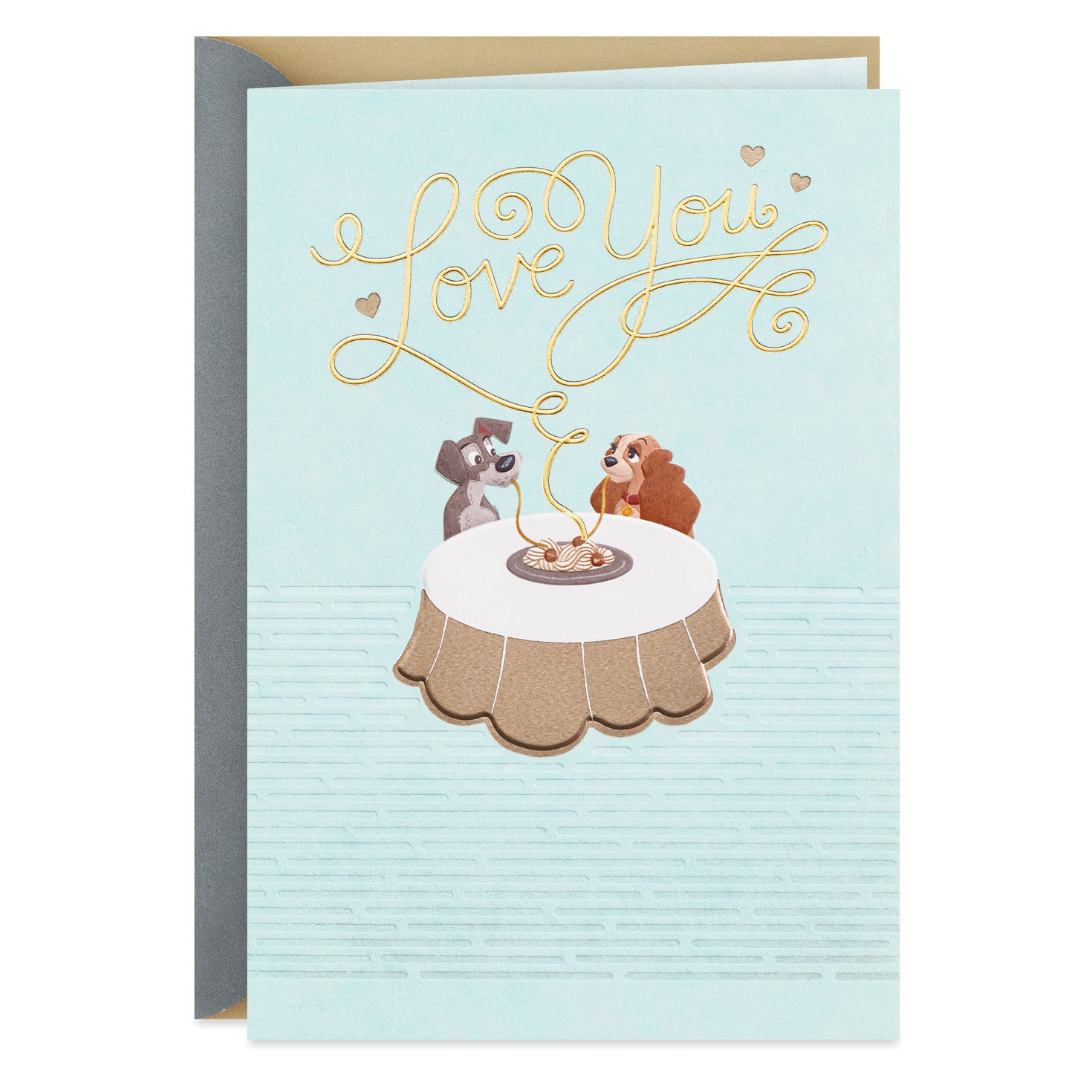 Lady And The Tramp Delicious Moments Anniversary Card Greeting Cards Hallmark