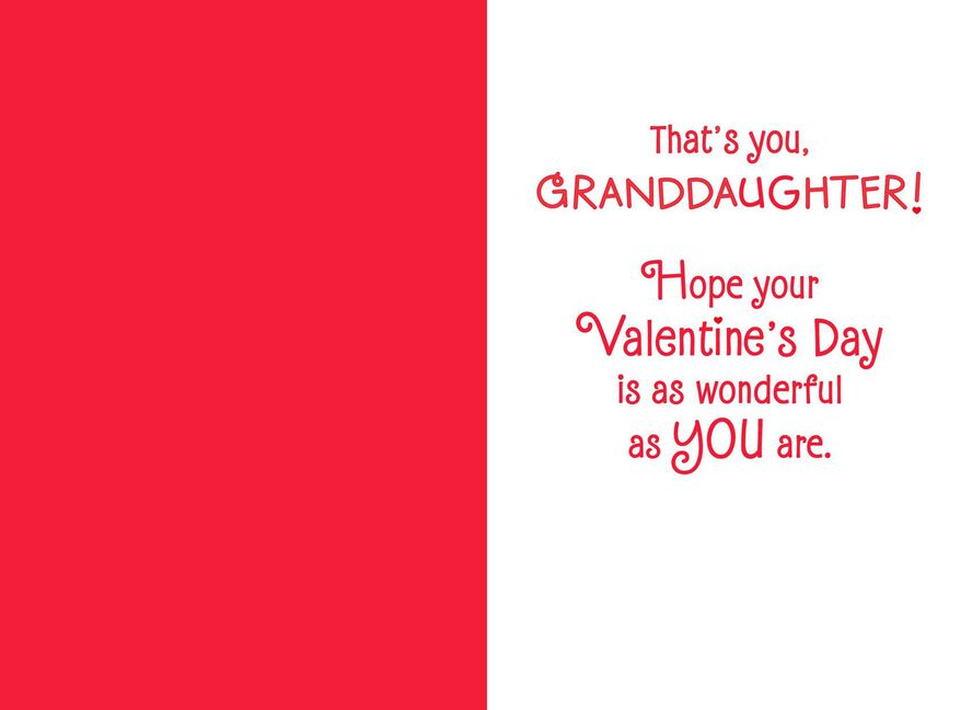 Minnie Mouse Valentine S Day Card For Granddaughter Greeting Cards