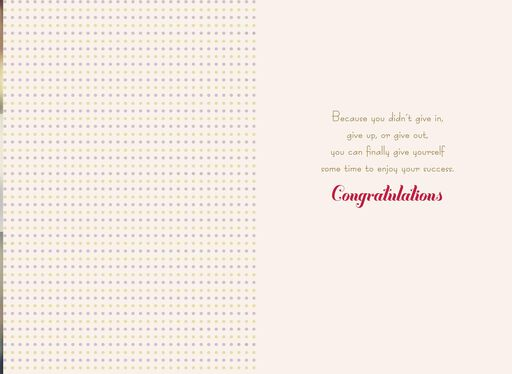 You Made It! Congratulations Card,