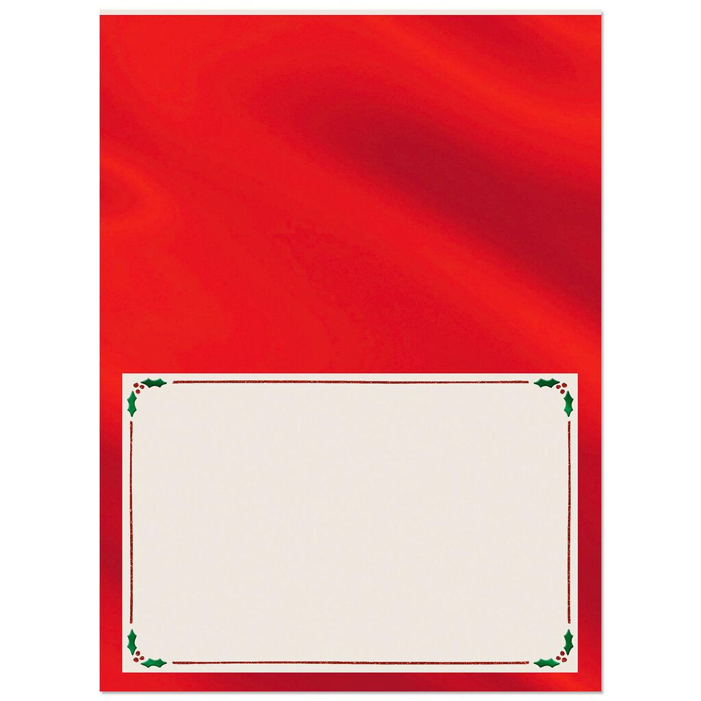 Classic Wishes Blank Christmas Card - Greeting Cards - Hallmark