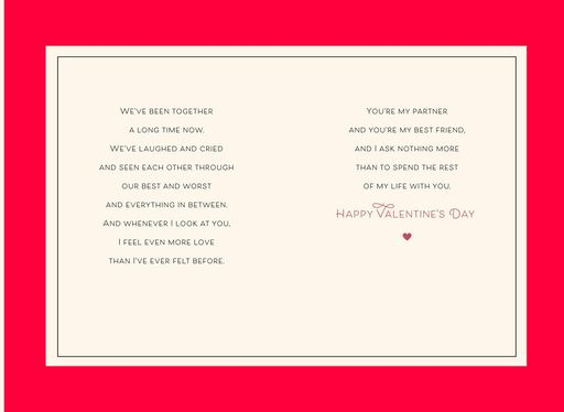 My Husband, My Friend Valentine's Day Card,