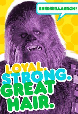 Great Hair Wookiee™ Birthday Card