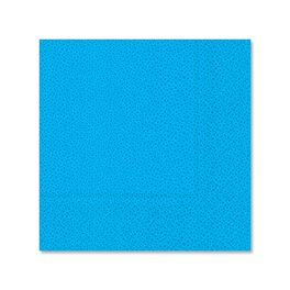 Pebble Blue Cocktail Napkins, Pack of 12, , large