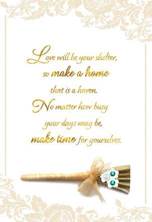 Make a Beautiful Life Together Wedding Card