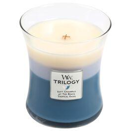 WoodWick® Beachfront Cottage Trilogy Medium Candle, 10 oz, , large