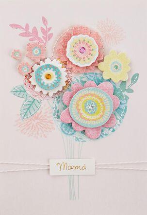 Muy Agradecido, Mamá Spanish Language Birthday Card
