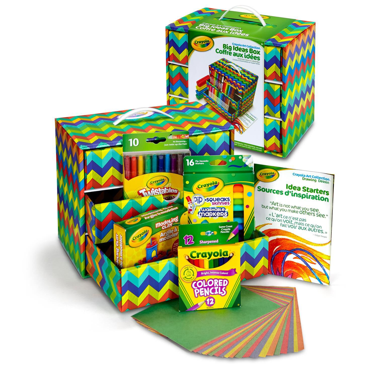 Crayola® Big Ideas Box For Art Supplies Storage   Arts U0026 Crafts   Hallmark