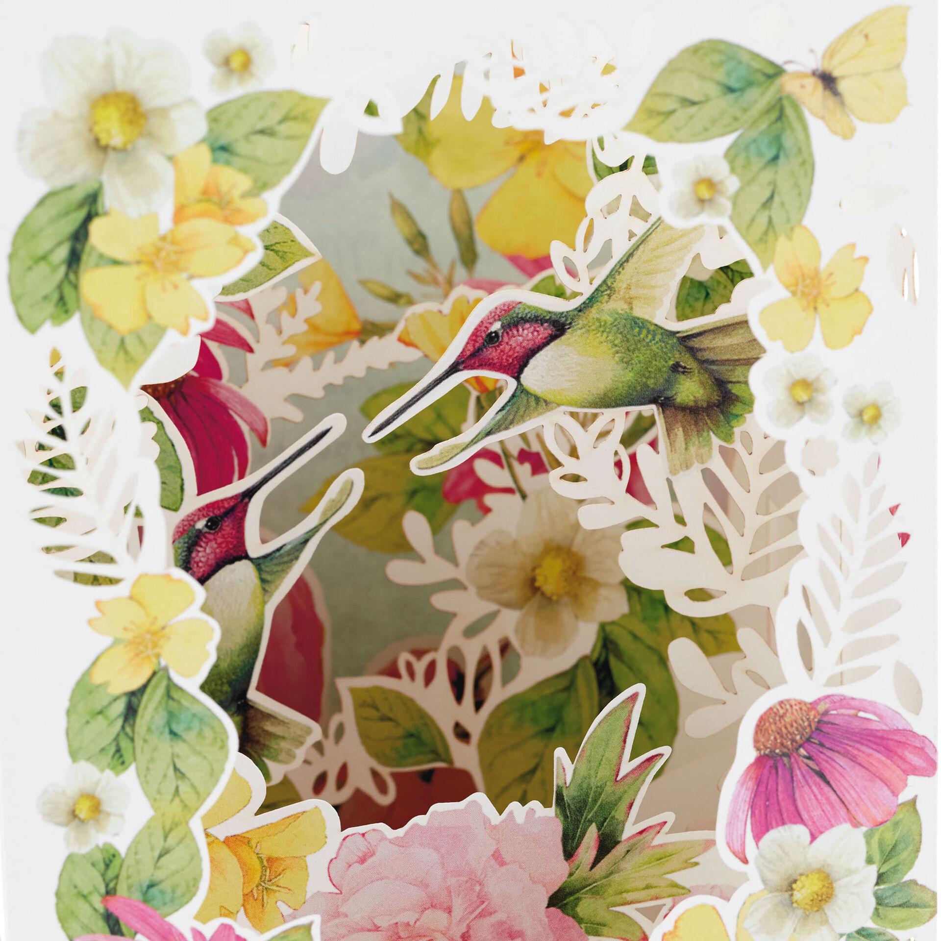 Happy Birthday Ladybugs Bees /& Flower Bouquet Marjolein Bastin Hallmark Card