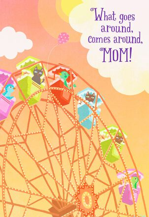 Ferris Wheel Musical Mother's Day Card