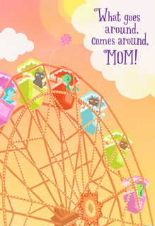 Ferris Wheel Musical Mother's Day Card,