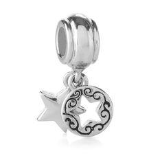 Star and circles charm jewelry accessories hallmark for Star hallmark on jewelry