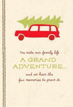 Grand Adventure Christmas Card