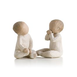 Willow Tree® Two Together Twins New Baby Figurine, , large