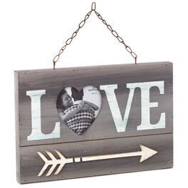 Love and Heart-Shaped Photo Picture Frame, , large