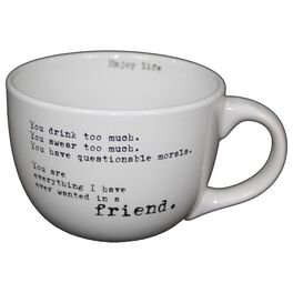 You Drink Too Much Mug, 24 oz., , large