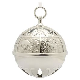 Ring In the Season Santa's Sleigh Bell Ornament, , large