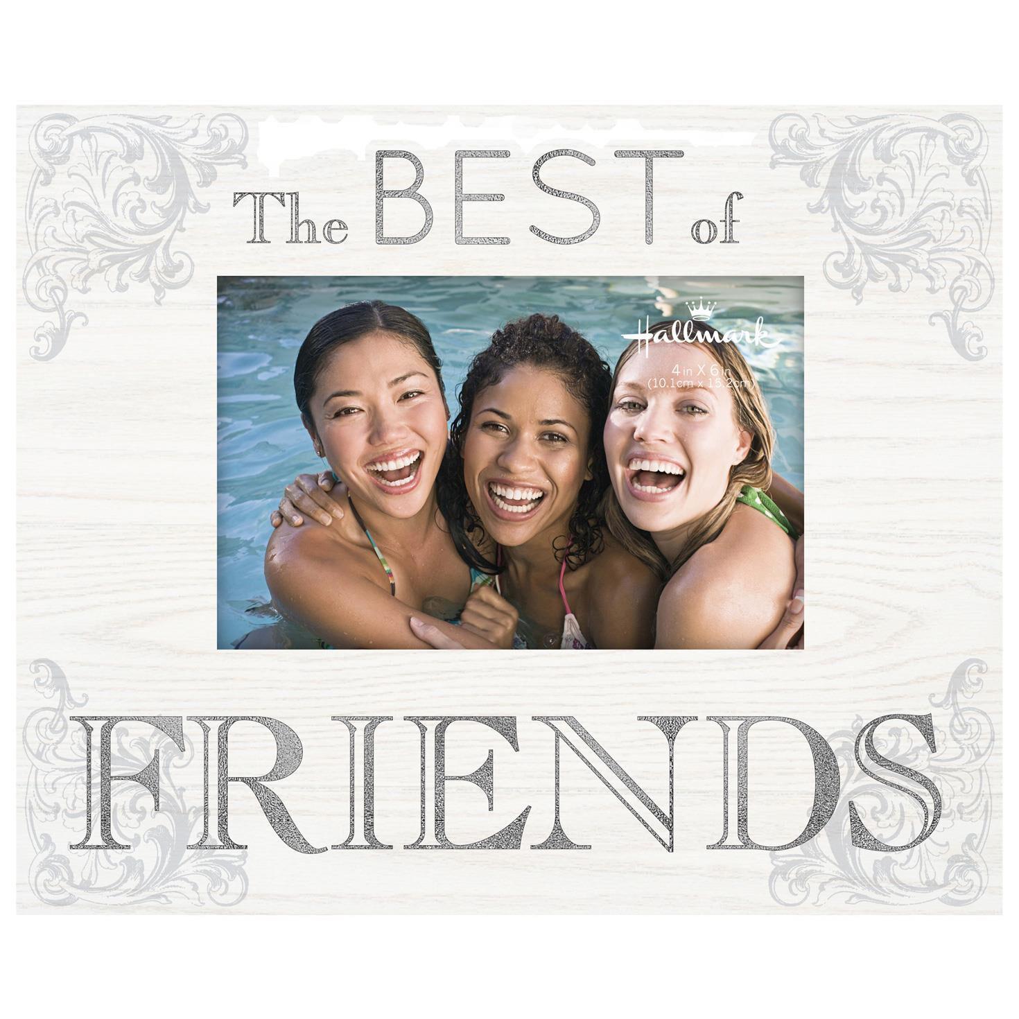 Best of Friends Wood Photo Frame, 4x6 - Picture Frames - Hallmark