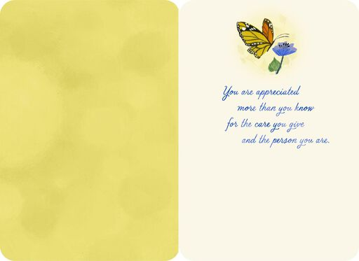 You Make a Big Difference Thank You Card,