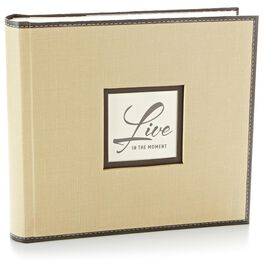 Tan and Black Photo Album, , large