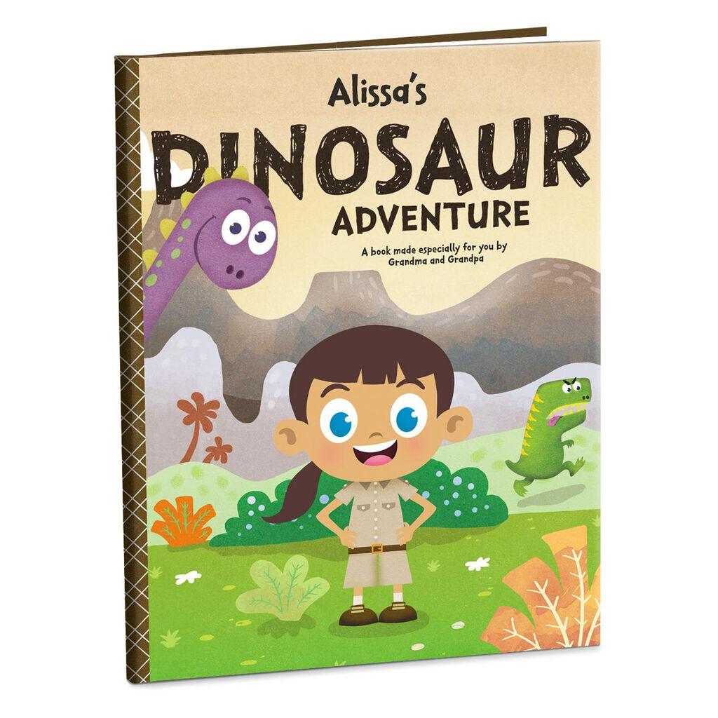 Dinosaur Adventure Personalized Book