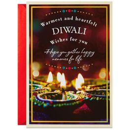 Warm and Heartfelt Wishes Diwali Card, , large