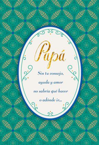 Always love you spanish language birthday card for dad greeting always love you spanish language birthday card for dad m4hsunfo
