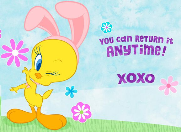 Hugs from TWEETY Easter Card for Godmother Greeting Cards – Hallmark Easter Cards