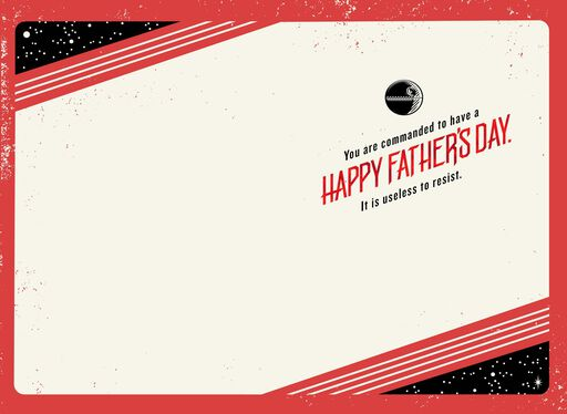 Star Wars™ Rule the Galaxy Father's Day Card,