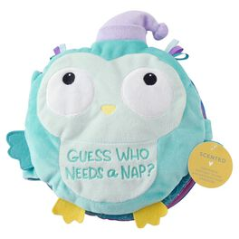JOHNSON'S® Scented Owl Plush Naptime Book, , large