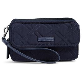 Vera Bradley RFID All-in-One Crossbody in Classic Navy, , large