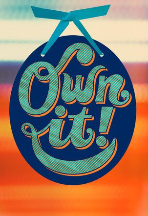 Own It! Birthday Card