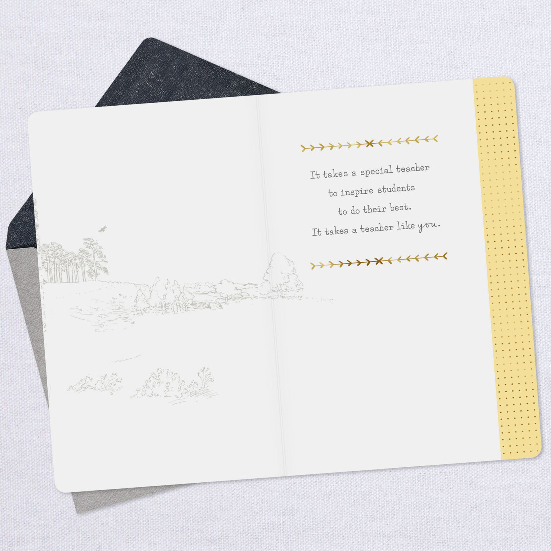Disney Winnie the Pooh Quote Thank-You Card for Teacher