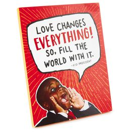 Kid President Love Sign, , large