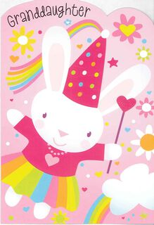 You're Spunky and Sweet, Granddaughter Birthday Card,