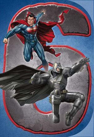 Batman V Superman: Dawn of Justice™ Musical 6th Birthday Card
