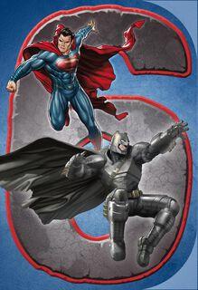 Batman V Superman: Dawn of Justice™ Musical 6th Birthday Card,