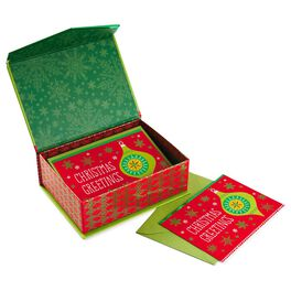 Traditional Ornament Christmas Cards, Box of 16, , large