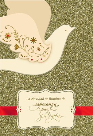 Holiday Blessings Spanish-Language Christmas Card