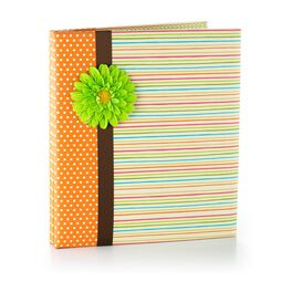 Spring Dots and Stripes Refillable Photo Album, , large