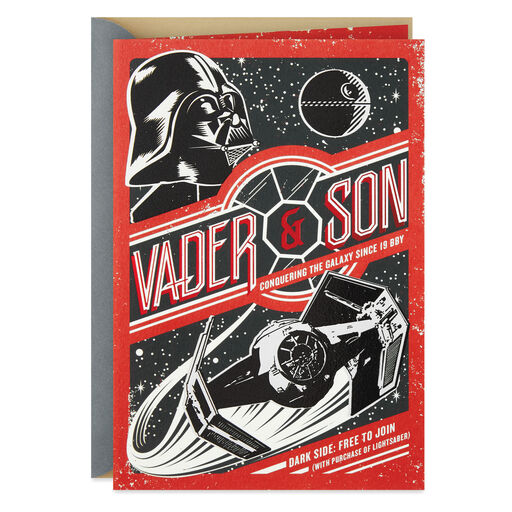 40f9b81d8 Star Wars™ Rule the Galaxy Father's Day Card, ...