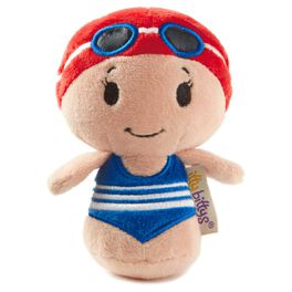 itty bittys® Swimming Girl Stuffed Animal Limited Edition, , large