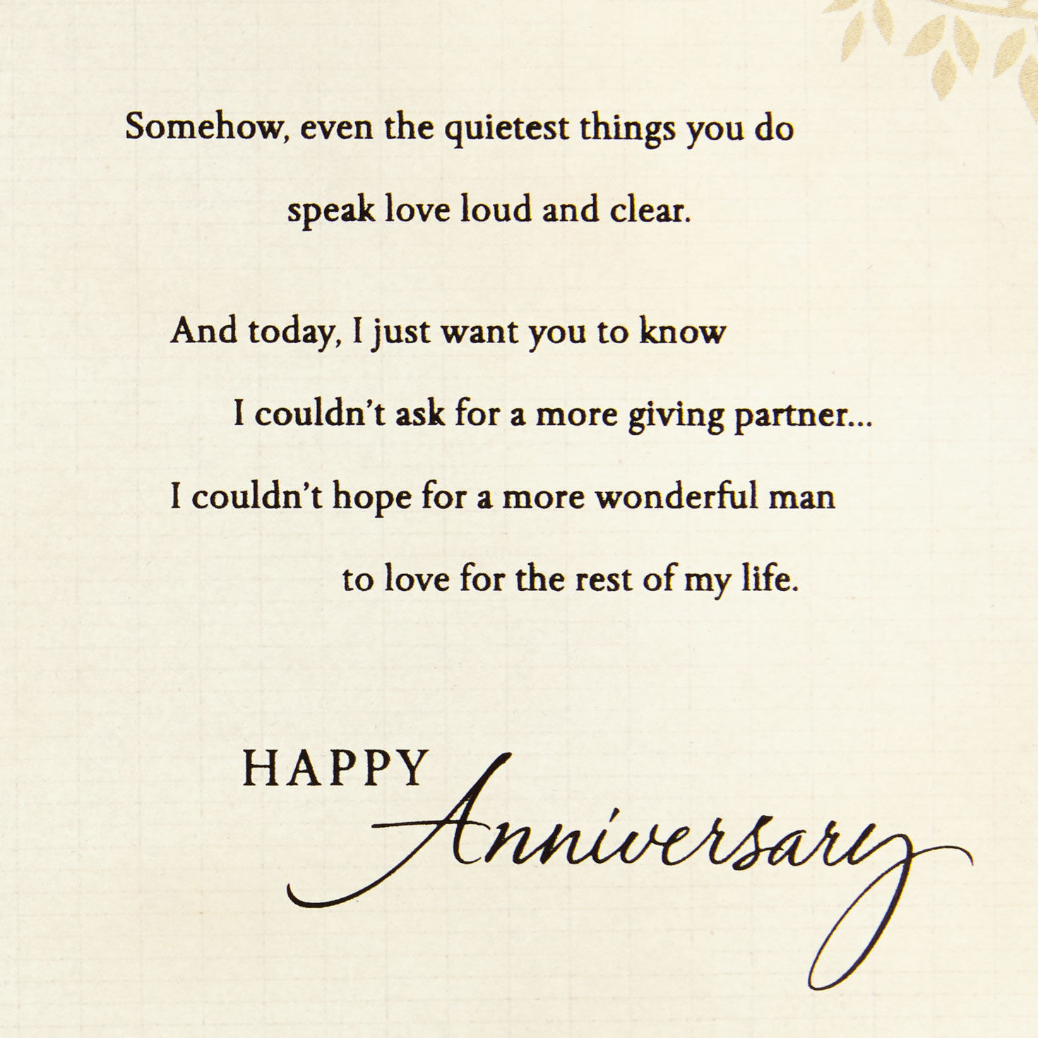 Bargain Prices with Free P/&P Lovely /'On Our First Anniversary/' Card