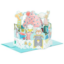 Sweet as a Cupcake Pop Up Birthday Card, , large