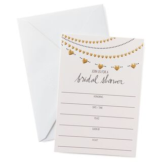 Hallmark Bridal Shower Invitations Justsingit Com