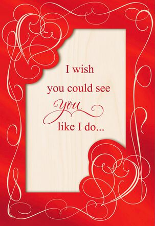 A Perfect Match Valentine's Day Card With Picture Frame