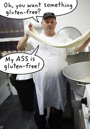 Gluten-Free Funny Birthday Card