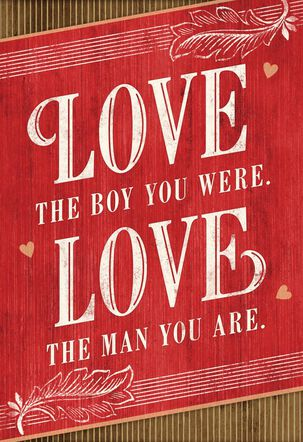 Love You Always Valentine's Day Card for Son